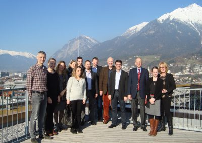 Project Meeting, 2014, Innsbruck